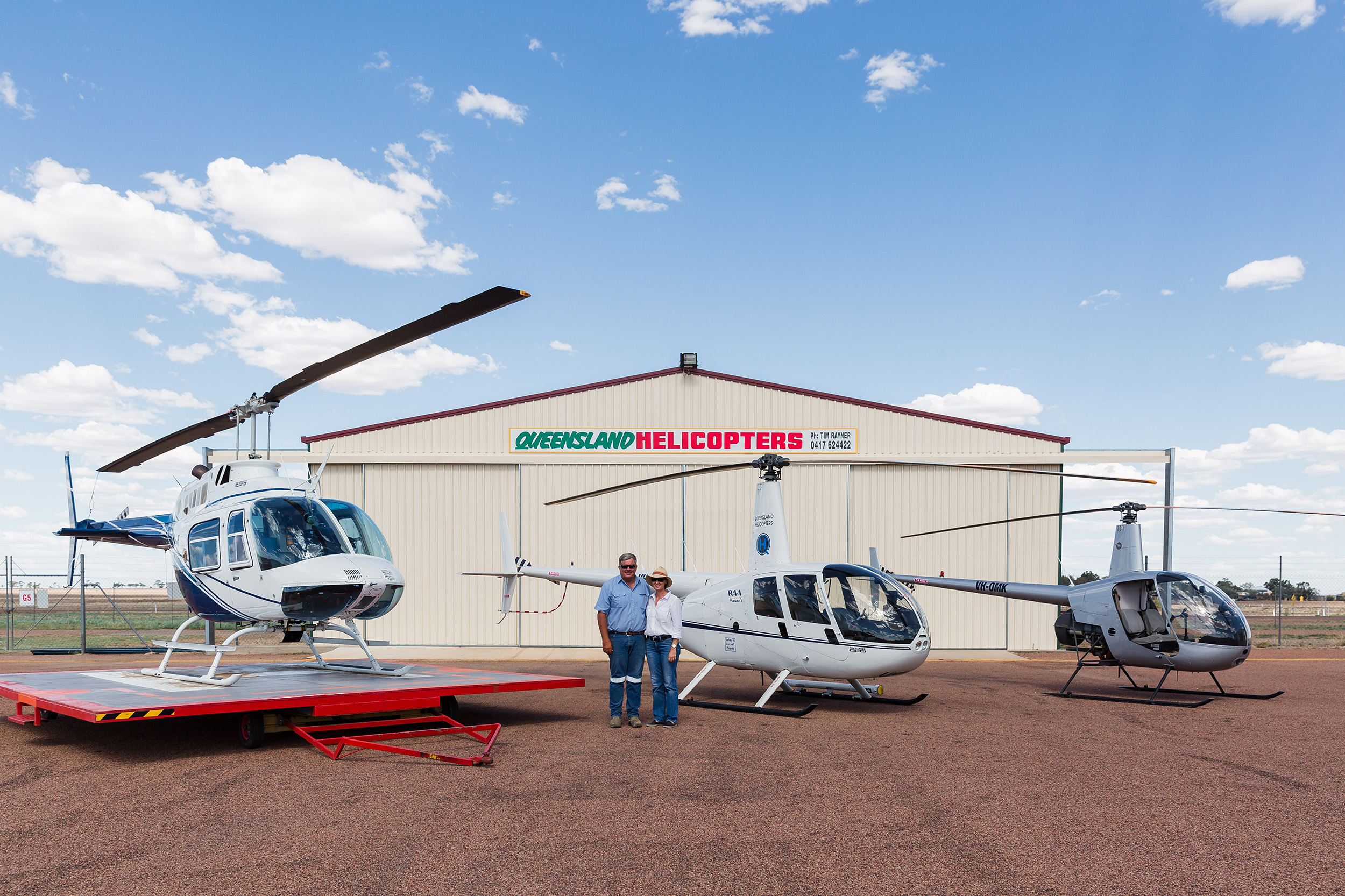 Queensland Helicopters - fleet and history