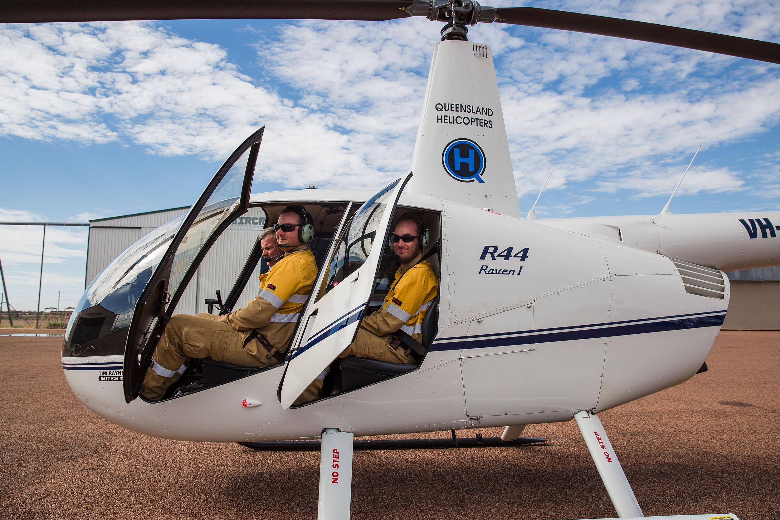 Queensland Helicopters - testimonials - workers